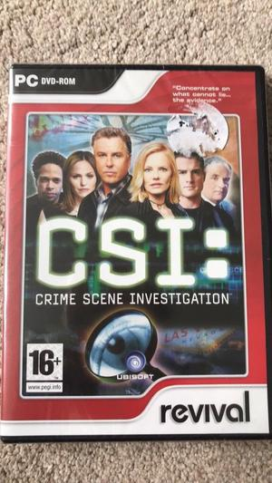 Crime Scene Investigation PC game