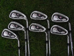 Golf club Wilson C200 FLX face iron set lovely condition. Quality irons real easy to play!