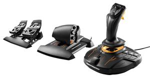 Thrustmaster T.M FCS Flight Pack Includes Joystick Throttle and Rudder Pedals