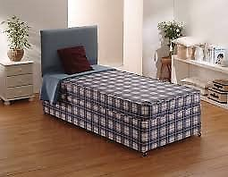 Brand New Comfy Single Divan Comfort Bed set FREE delivery 2 Available