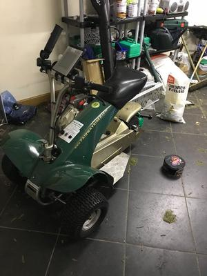 Patterson Eventer Single Seat Golf Buggy Posot Class