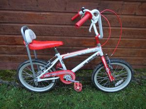 one direction chopper style bike, 18 inch wheels suit 7 to 10 years