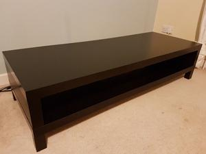 Wondrous Ikea Lack Tv Bench Unit Black Brown With Glass Posot Class Ocoug Best Dining Table And Chair Ideas Images Ocougorg