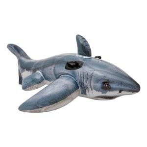 Intex Inflatable Great White Shark Rider Ride On Beach Toy