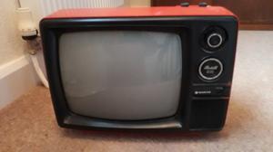 Sanyo de luxe portable tv. 's