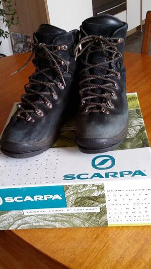 Scarpa Condura Pro Anthracite boots suitable for crampons size 44