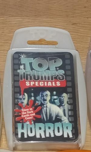 Top Trumps Specials Horror Glow in the Dark