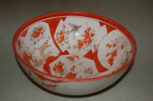 mid 19th century japanese bowl