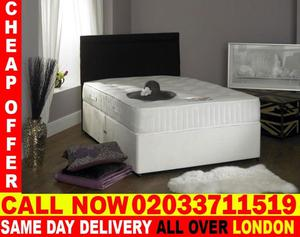 BEST QUALITY SMALL DOUBLE DIVAN BED BASE AND MATTRESS. Raleigh