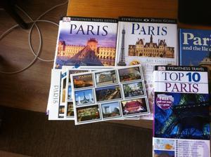 Travel books for PARIS