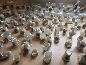 CRESTED CHINA.....LARGE COLLECTION