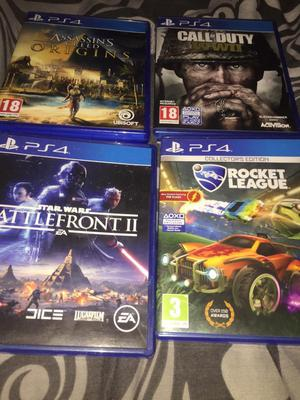 Four good PS4 games pristine condition