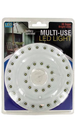 Kole Imports OC574 Battery Operated Multi-Use 36 LED Light