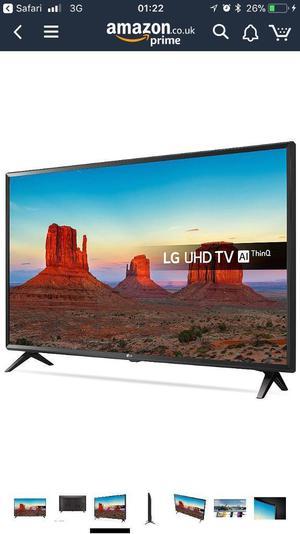 "LG 49"" 4K Ultra HDR Smart TV"
