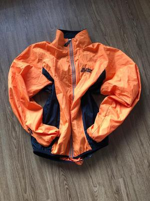 View from men's cycling jacket. Size large