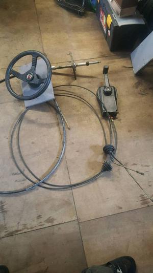 Boat teleflex steering kit