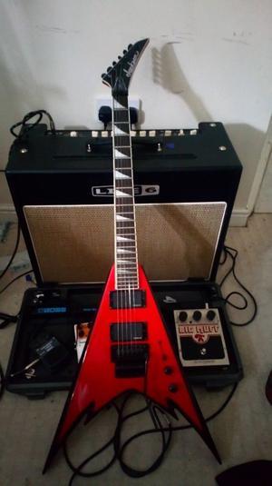 Jackson King V Guitar - Phil Demmel Signature