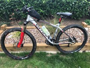 "Mens - Carrera Fury Mountain Bike 18' Frame, 27"" wheels, front suspension, Halfords"