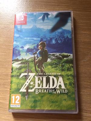 **SEALED** NINTENDO SWITCH ZELDA GAME BRAND NEW THE LEGEND OF ZELDA BREATH OF THE WILD