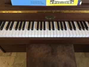 Upright piano for sale in excellent condition. One owner in last 11 years