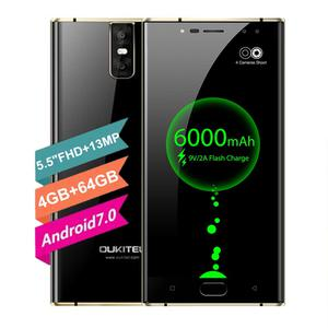 "5.5"" OUKITEL K3 4G Smartphone Android 7.0 Octa Core 4GB+64GB"