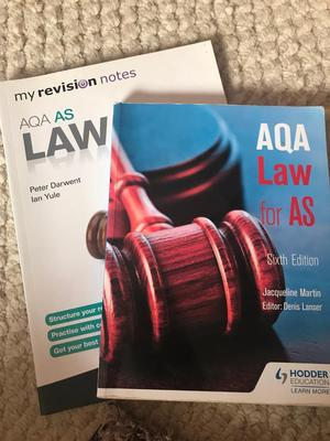 AQA law books