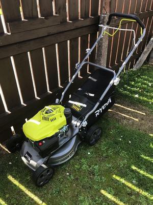 Brand new petrol lawnmower, used once, need a quick sale. Cost £200 will accept £170!!!