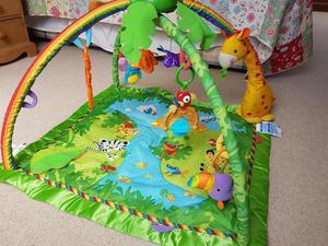 Fisher Price Rainforest gym playmat