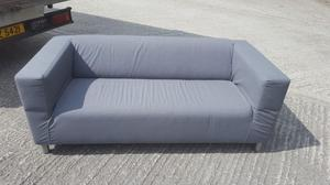 Grey 3 seater sofa - excellent condition - 1 only - reduced to clear