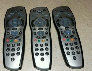 Job lot of 4 original sky hd remote control