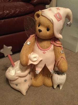 Cherished Teddy Tooth Fairy Large Figurine