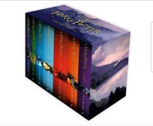 Complete Harry Potter book set
