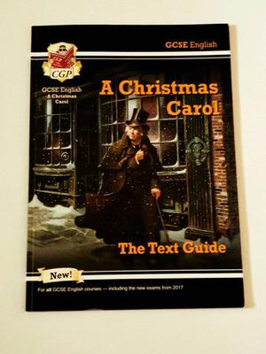 English literature,AQA.A Cristmas Carol text guide and workbook