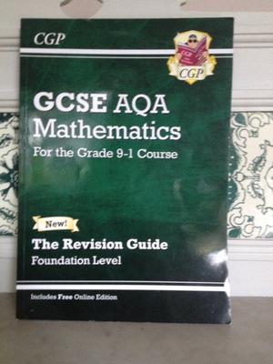 GCSE AQA Mathematics Revision Guide