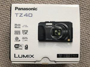 PANASONIC DMC - TZ40 COMPACT DIGITAL CAMERA.