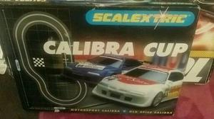 Scalextric Calibra cup racing set