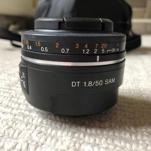 Sony mm fixed lens.