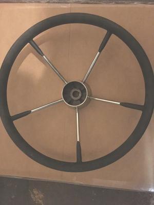 various boat steering wheels from £80