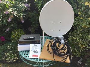 2x Satellite TV Systems With Dishes Price is for both Systems Gloucester GL3