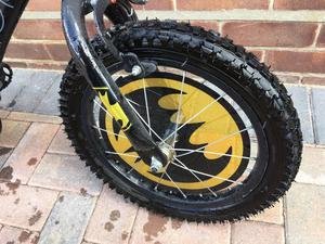 Batman bike for up to 8s