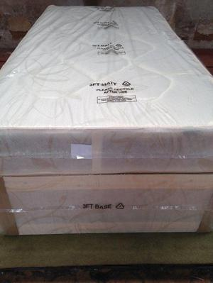 Brand New Comfy Single Ortho Comfort Divan Bed set FREE delivery 2 available