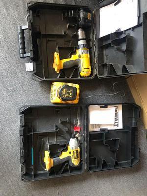 Dewalt 12v Drill and impact driver