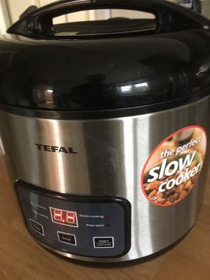 TEFAL 3 in 1 Rice Cooker - Slow Cooker and Steamer