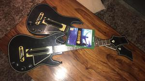 Guitar hero live with two guitars everything included Xbox one
