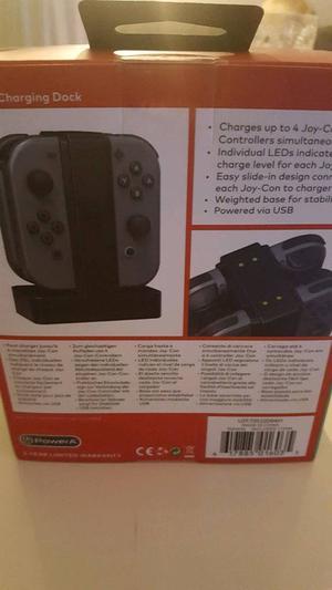 Nintendo switch never opened charging dock