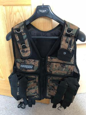 Fatboy Paintball Tactical Camo Vest (used once)