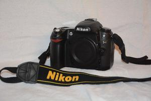 Nikon D80 digital camera body only. Original Nikon box. Including 2 batteries +charger.