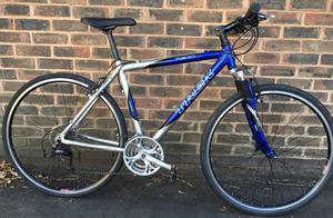 20 inch Trek  lightweight aluminium Hybrid Comfort Bike Commuter, Town road Bike