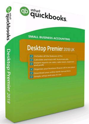 QuickBooks Desktop Premier  UK Version With Genuine Activation Code For Windows PC