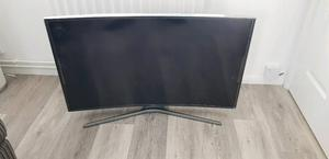 "40"" Samsung 4K UHD curved smart tv"